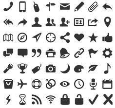 Entypo | 30 Free Dingbat Fonts You Should Download Immediately