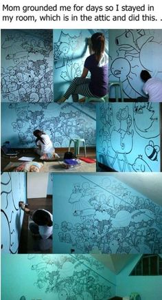 The most awesome Adventure Time drawing EVER! This girl deserves an award Cassandra Calin, Rasengan Vs Chidori, The Meta Picture, Jake The Dogs, Bubbline, Wow Art, Marceline, Claude Monet, Amazing Art