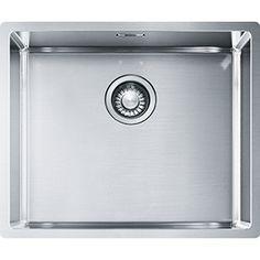 Lavello Cucina 75 Cm.Fulgor P1b 7545 Q F Sf Lavello Incasso Filotop Cm 75 X 45