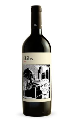 4 kilos 2009  This is one of my favorite wines from Mallorca...  These wines are surprising elegant and lighter than one would expect given the Med climate.     They do a different cool comics art label each year.  Just had this 2009 a couple of months ago...very good!  It's already sold out in  many places... there is the new 2010 released already with a much darker label.  About 30 euros in Spain.  Pretty hard to find in the US