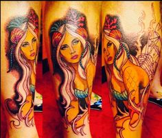 1000 images about mermaid tattoo ideas on pinterest for Ink craft tattoo