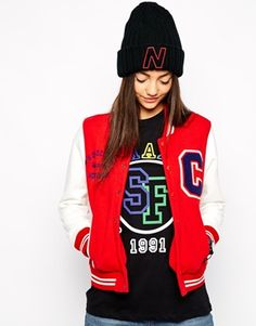 I just like the baseball jacket!