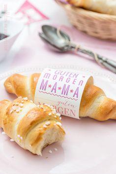 Fünf Rezepte + Printables: Ideen zum ♥ Muttertag ♥ von klitzeklein Blog // receipes and free printable from klitzeklein Blog
