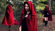 Rotkäppchen - Mantel mit Kapuze
