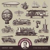 antique hot air balloon - Google Search