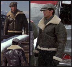 This designer jacket has been prepared in an errorless manner. The fans of Sylvester Stallone will admire this jacket. can order it from instylejackets Brown Leather Jacket Men, Brown Jacket, Rocky Balboa, B3 Bomber Jacket, Rocky Film, Stallone Rocky, Military Fashion, Mens Fashion, Silvester Stallone