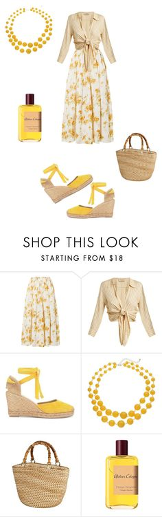 """Untitled #1150"" by cassandramortmain ❤ liked on Polyvore featuring Brock Collection, ADRIANA DEGREAS and Atelier Cologne"