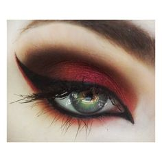 Halloween vampire eyes makeup vamp looks ❤ liked on Polyvore featuring beauty products, makeup, eye makeup, eyes and beauty