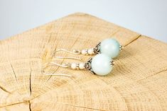 """Ohrschmuck """"Crowning Blue"""" Fair Trade, Stud Earrings, Blue, Jewelry, Ear Jewelry, Rhinestones, Silver, Jewlery, Jewerly"""