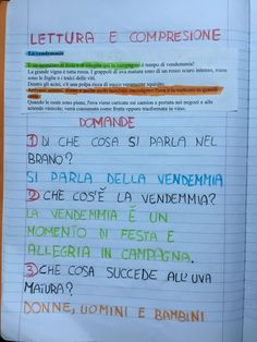 PARTENDO DALLA VENDEMMIA A… Cool Science Experiments, Science Fair Projects, Free Activities, Quizzes, Lesson Plans, Fun Facts, Bullet Journal, How To Plan, Education
