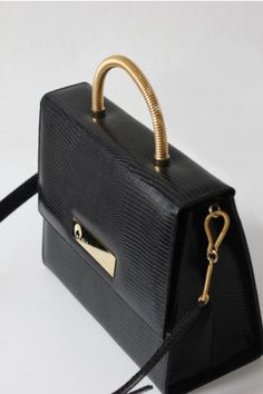 Reservedfrench 40s Leather Handbag Briefcase Lap Top Recycled Uni Tops Handbags And Briefcases