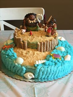 Moana Birthday cake!!