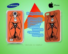 Jack Skellington Case for iPhone 4/4S iPhone by KuntiDesign, $16.00