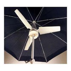Battery operated Patio Umbrella Fan