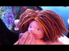 how to do freckles on your waldorf doll (tutorial by bamboletta dolls)