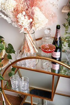 What more could you need on your drinks station? Moet Rose, Pamper Hamper, Jurlique, To Spoil, Gift Hampers, Rose Water, Queen, Luxury, Gifts