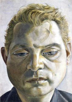 Portrait of Francis Bacon by Lucian Freud 1952 Oil on Metal, Tate Gallery (Stolen while on loan in Berlin in