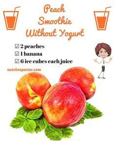 Fruit Smoothie Recipes, Apple Smoothies, Easy Smoothies, Yogurt Recipes, Smoothie Drinks, Milk Recipes, Breakfast Smoothies, Homemade Smoothies, Protein Smoothies