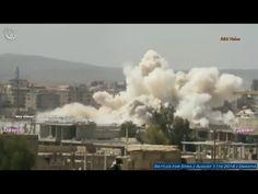 Guerra na Síria - Ataques aéreos - 11 de agosto de 2016 l Daraia