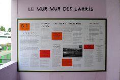 Le Mur Mur des Larris - Formes Vives, l'atelier