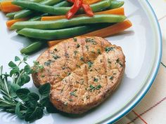Recipe: Herbed Butterfly Pork Chops