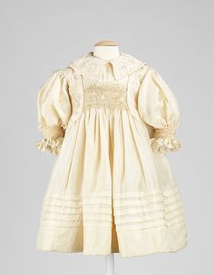 Child's Dress   c.1895 The Metropolitan Museum of Art