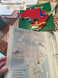 Ideas for using LEGOs to teach Geography and make learning fun