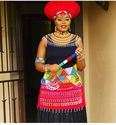 Discover recipes, home ideas, style inspiration and other ideas to try. Zulu Traditional Attire, Zulu Traditional Wedding, South African Traditional Dresses, Traditional Outfits, African Wedding Attire, African Attire, African Dress, African Wear For Ladies, African Women