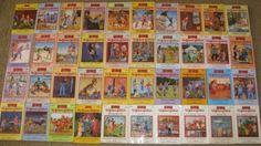 Box Car children.. All of these books were read unless they came out with any after I left Elementary School..