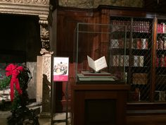 Charles Dickens's manuscript for A Christmas Carollies open in a great hall of books, the Morgan Library in New York City. There it is by the great fireplace in a plexiglas box. Children a…