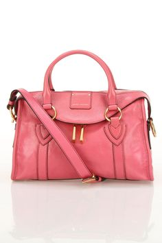 Marc Jacobs Small Fulton Shoulder Bag In Fuchsia - Beyond the Rack