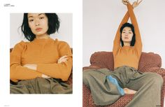 Comfortable Fashion - Highlighting a range of comfortable fashion staples, The Ones 2 Watch 'Bibi, baby' editorial will appeal to the reclusive homebody. Mod...