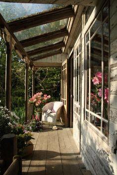 UNA CABAÑA EN LA ISLA DE WIGHT / LITTLE ENGLISH SUMMER COTTAGE   desde my ventana   blog de decoración  