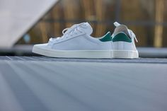 Adidas Court Vantage Green/White - S78762