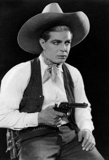 Hoot Gibson , silent and early talking Western actor, producer, director, rodeo champion  1892-1962