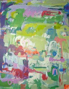 "Blamo, 48"" by 60"" gallery wrap, Michelle Armas"