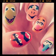 muppets nails!!!! :O I want <3