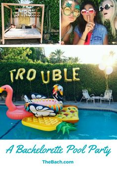 Here's How to Host the Ultimate Bachelorette Pool Party!