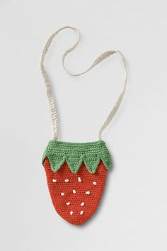 Little Girls' Crochet Purse from Lands' End