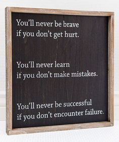 Take a look at this 'Be Successful' Framed Wall Sign today!