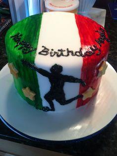 Italian soccer cake