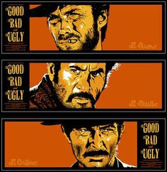 If you have to see any Spaghetti Western, this is my favorite. There are several posters for the film, but I this one is best at showing the true nature of the main characters. Sergio Leone is the master of intense close-ups, and a lot of the tension between the characters is illustrated through facial expressions, rather than dialogue.