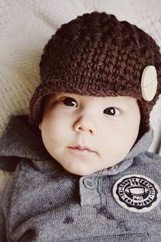 Sombrero del muchacho bebé muchacho bebé por PBlossomBoutique