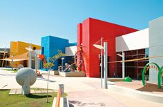8 most interesting buildings for children – Educational Architecture Colour Architecture, Museum Architecture, Sacred Architecture, Cultural Architecture, Education Architecture, Sustainable Architecture, Architecture Plan, School Building Design, School Design