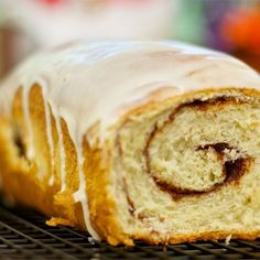 "Cinnamon Raisin Swirl Bread | ""Add cinnamon to the dough mixture and double the filling."""