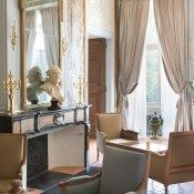 Château De Fonscolombe, a new dreamy French hotel with availability this summer! |  A chateau lounge, classic french decro