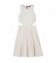 @Who What Wear - Tibi Sonoran Eyelet Dress ($425)  Side cutouts add just the right amount of edge to this eyelet dress, making it a perfect pick for all those upcoming backyard barbecues.