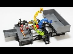 LEGO GBC module : Six Heads - YouTube School 2013, Summer School, Lego Engineering, Lego Toys, Lego Creations, How To Know, Legos, Gifts For Kids, Awesome Stuff