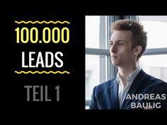 Andreas Baulig - Vom Studentenprojekt zu 100.000 Leads I HACKSathon Speaker - Teil 1 - YouTube