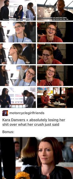 Another Karolsen and Supercorp parallel, aka Supercorp is totally canon